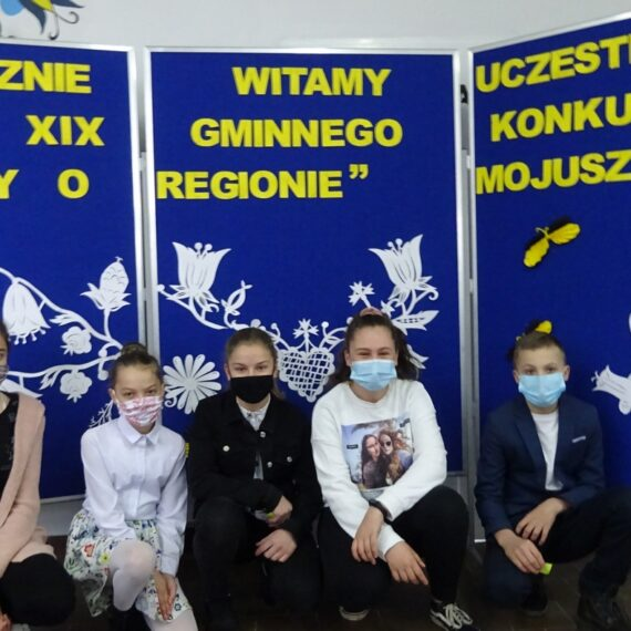 Gościliśmy w naszej szkole uczestników XIX Gminnego Konkursu Wiedzy o Regionie